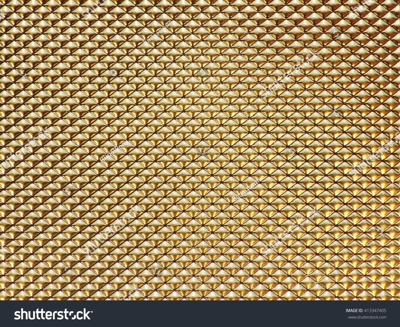 Decorative Gold Wall | EZ Canvas