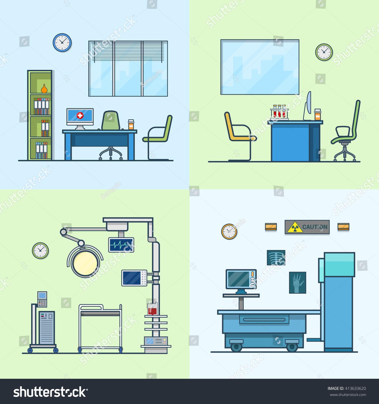 Hospital Medicine Cabinet Hospital Clinic Medical Medicine Dispensary Lab Operation Room X