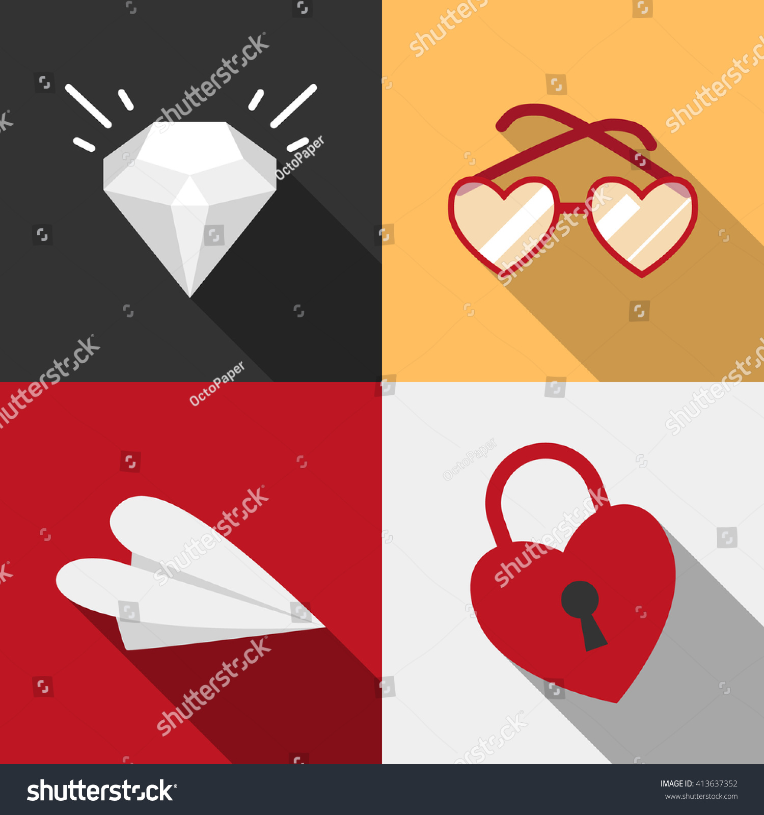 Dating sites symbols