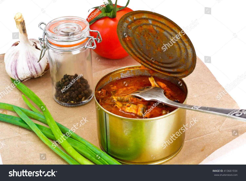 Fish sprat soup in tomato sauce: a recipe 50