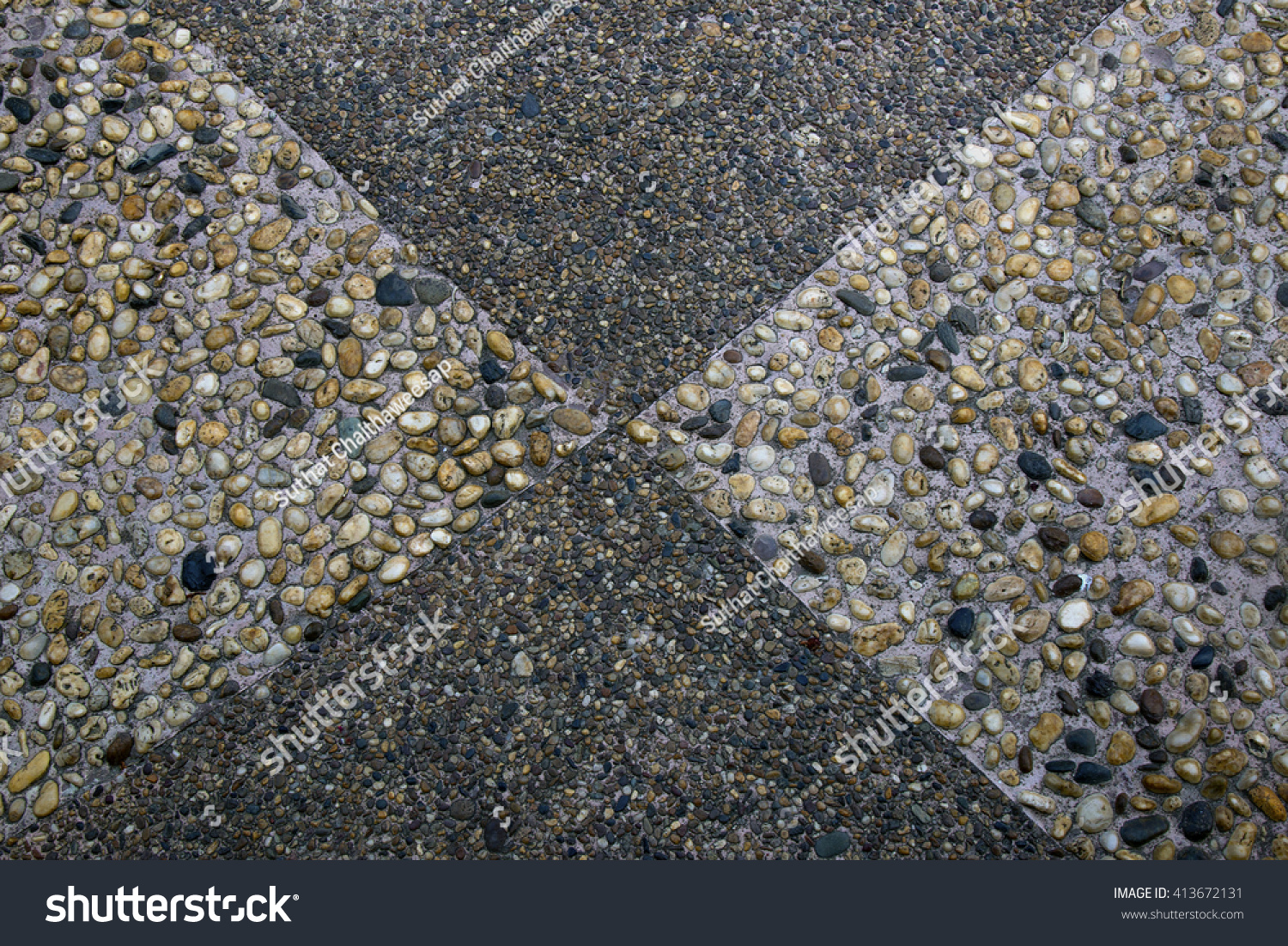 Washed Sand Terrazzo Floor Design Stock Image Download Now