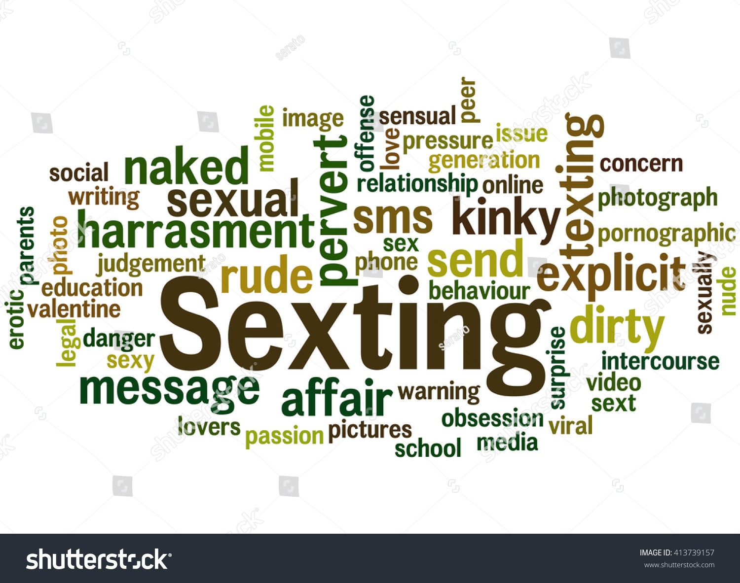 Sexting word cloud concept on white stock illustration 413739157 sexting word cloud concept on white background biocorpaavc Choice Image