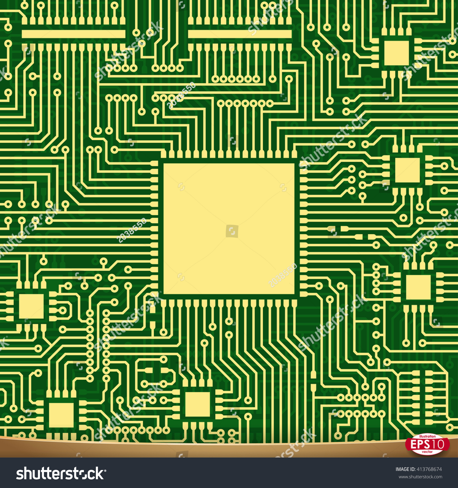 Amazing Pcb Wiring Scheme Vector Electrical Background Stock Vektorgrafik Wiring Digital Resources Honesemecshebarightsorg