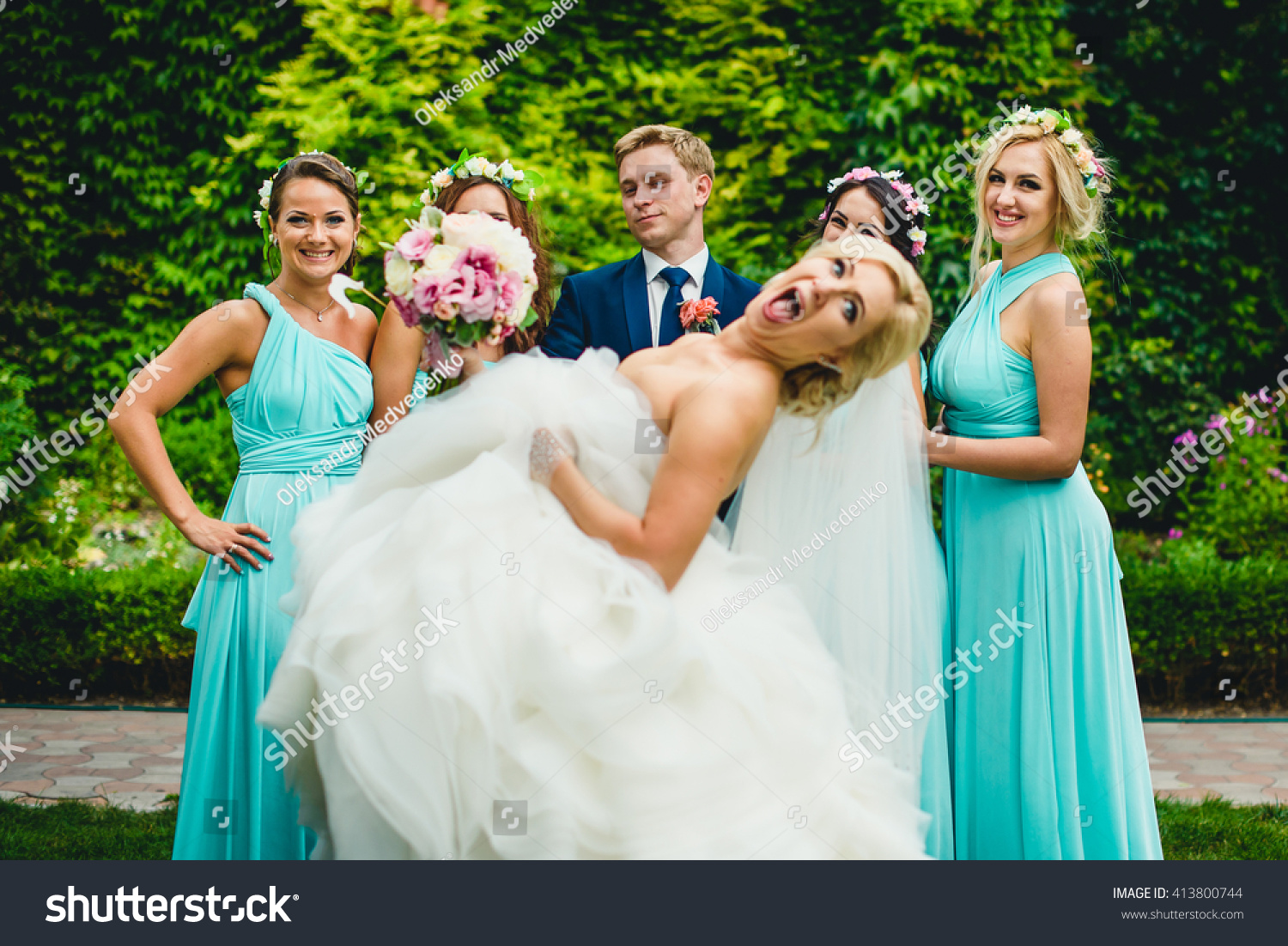 Funny Brides Face Stock Photo (Safe to Use) 413800744 - Shutterstock