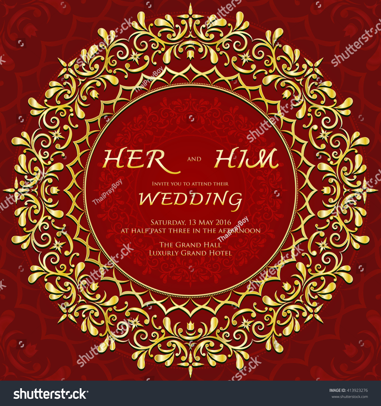 Famous Grand Wedding Invitation Cards Images - Invitations and ...