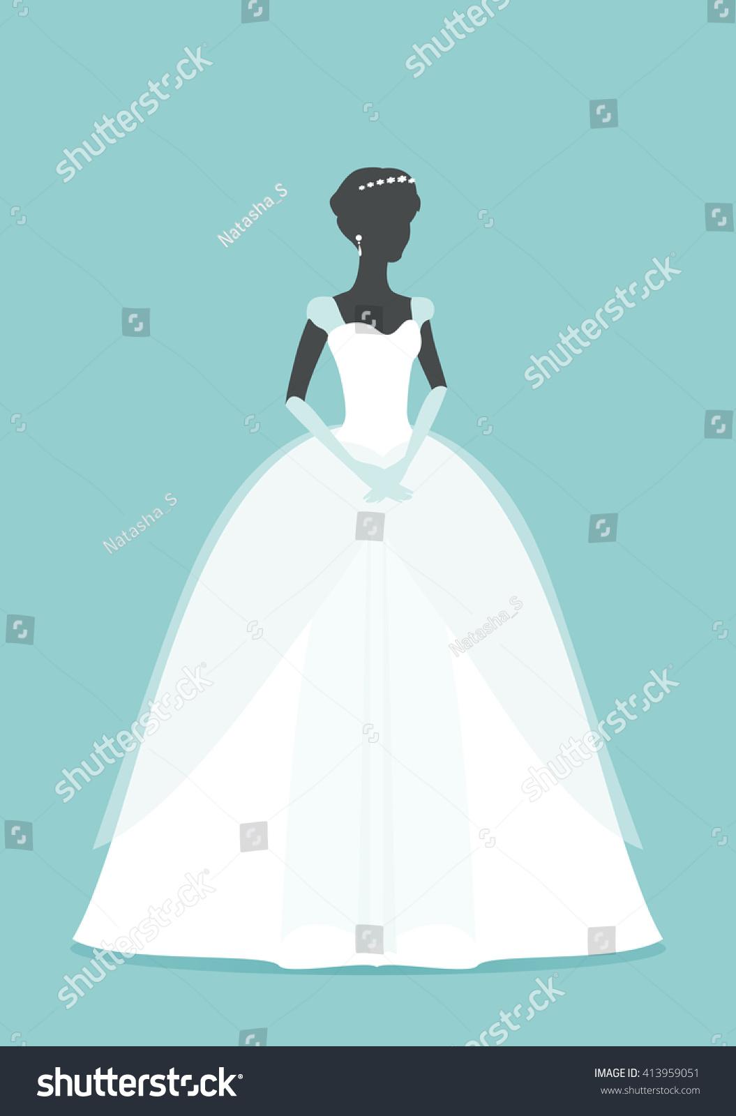 Magic Princess Beautiful Bride Princess Princess Stock Vector (2018 ...