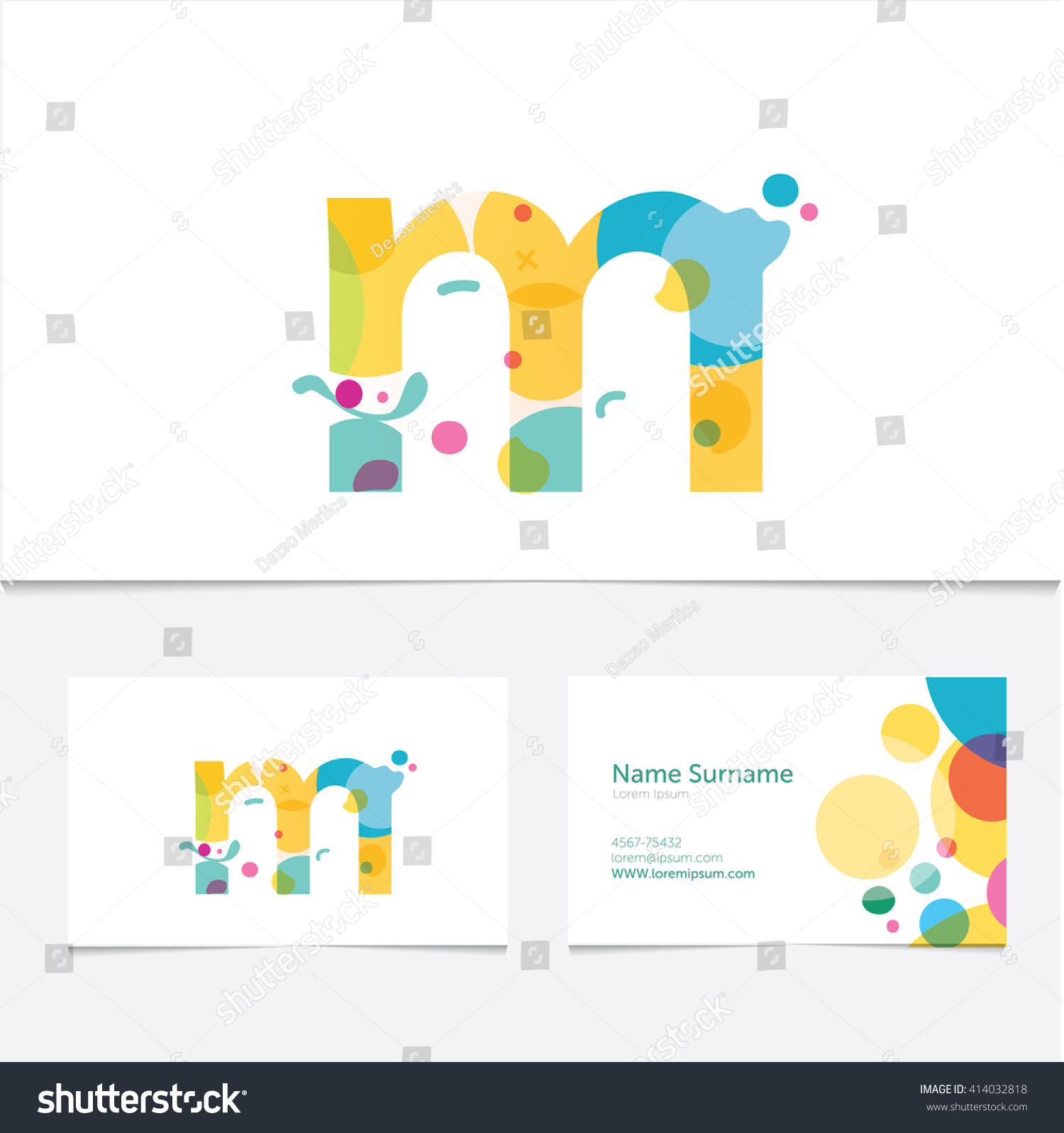 Creative Letter M Design Vector Template Stock Vector Hd Royalty