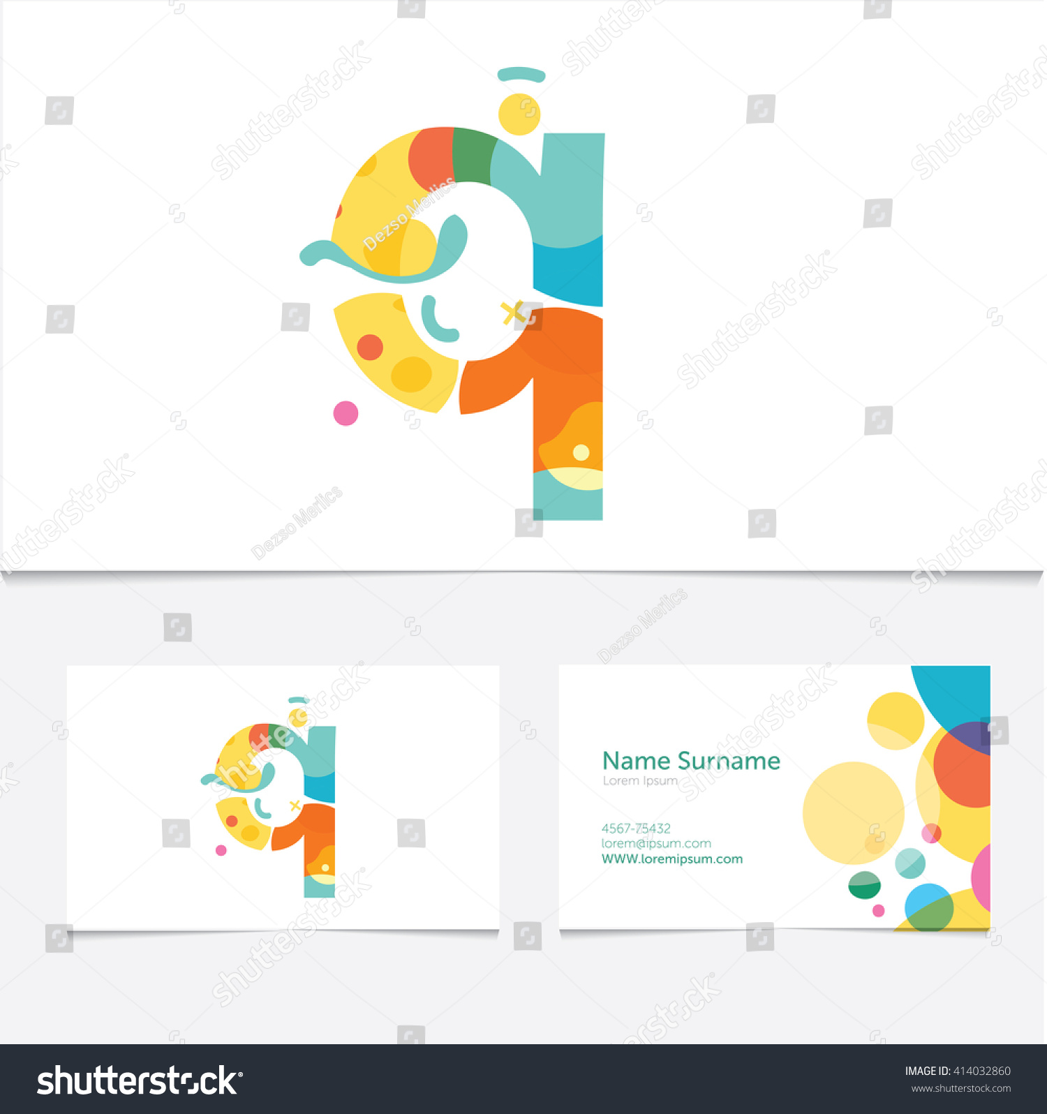 Creative Letter Q Design Vector Template Stock Vector