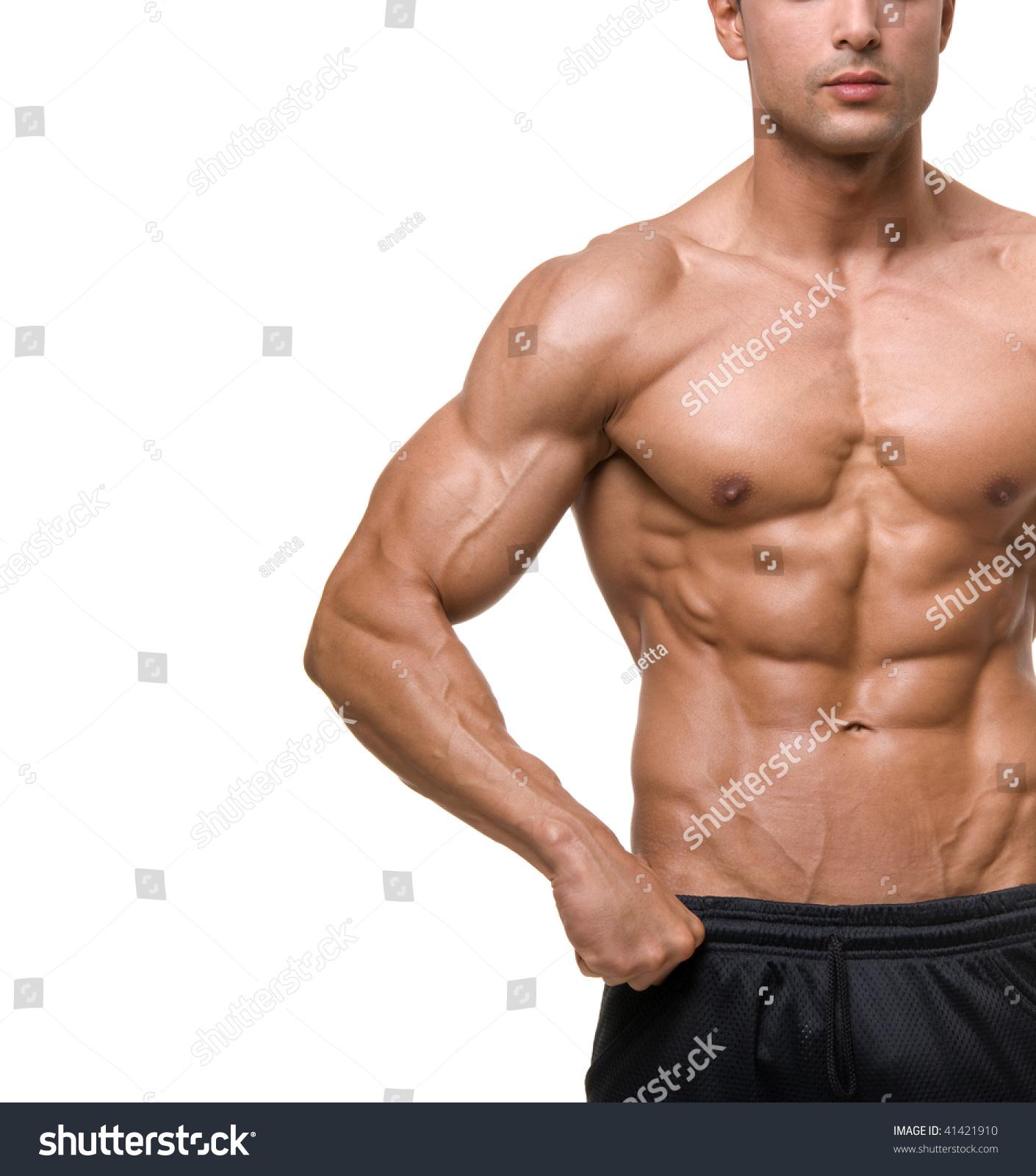 Bodybuilding man Stock Photo 01 free download