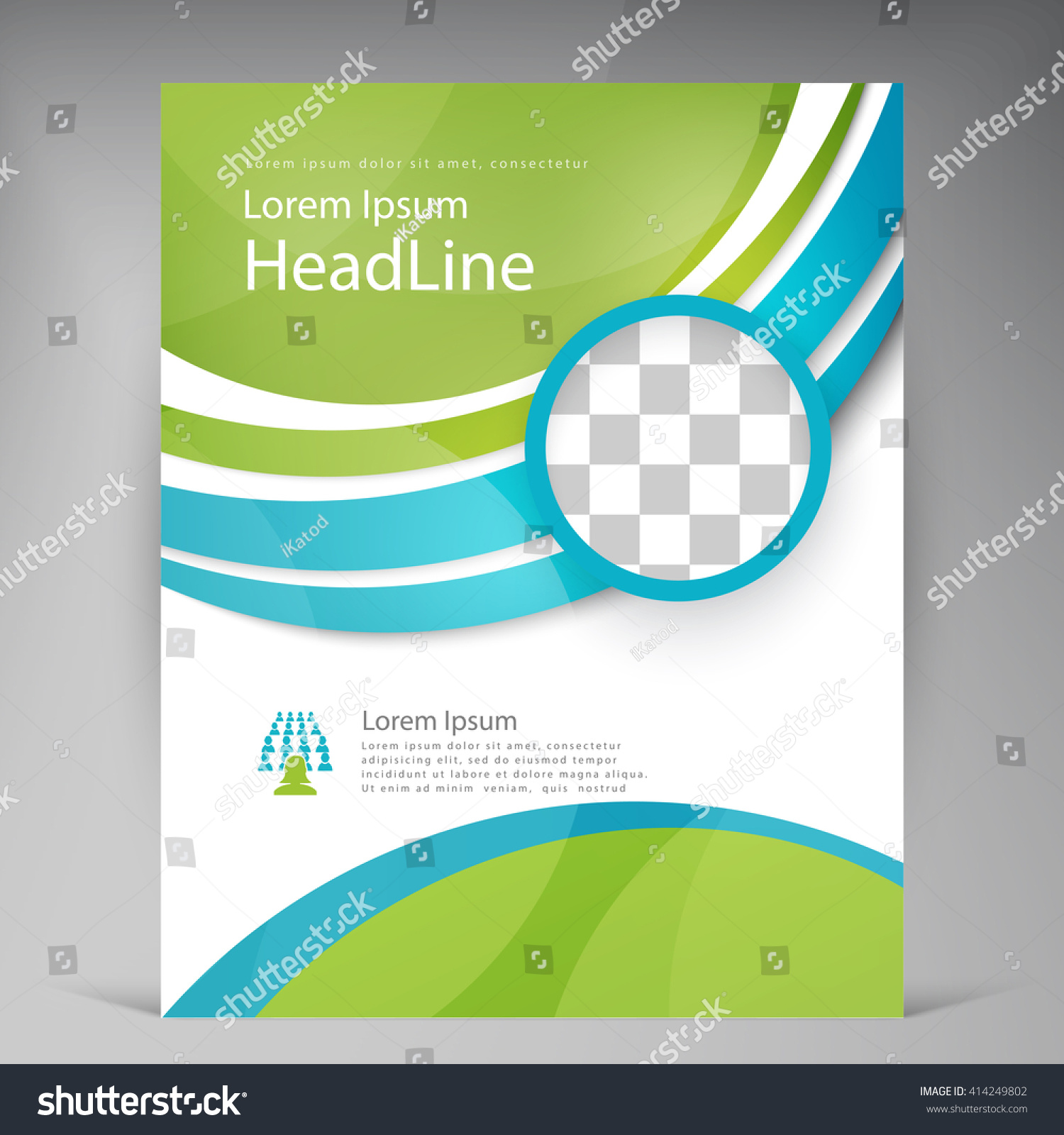 template for flyers vector beautiful green flyer template flyers – Green Flyer Template