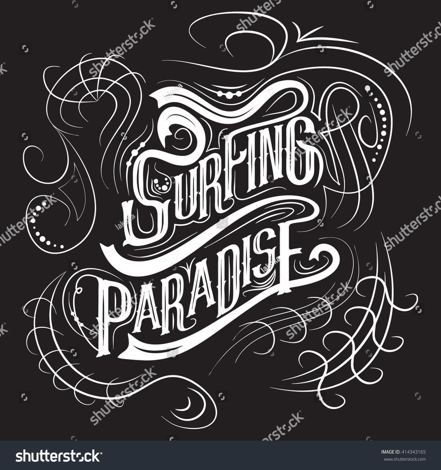 Design t shirt artwork - Surfing T Shirt Graphic Design Artwork Apparel Stamp Typography Emblem Creative Design