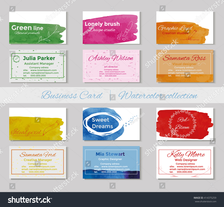 standard business card template eliolera