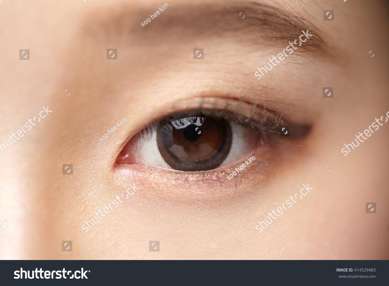 asian woman eyes closeup stock photo 414529483 shutterstock