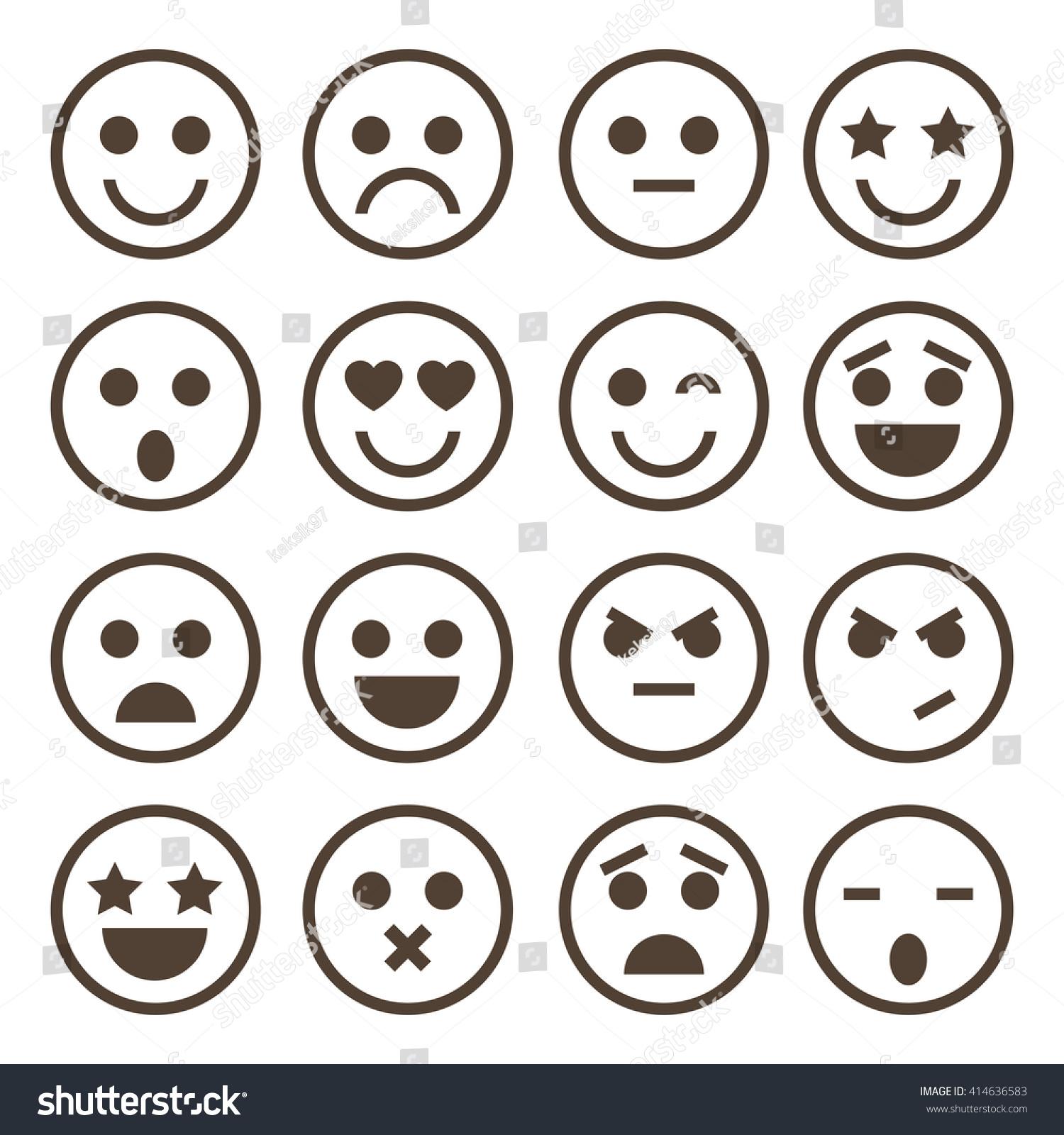 Emoji Vector Stock Vector 414636583 - Shutterstock