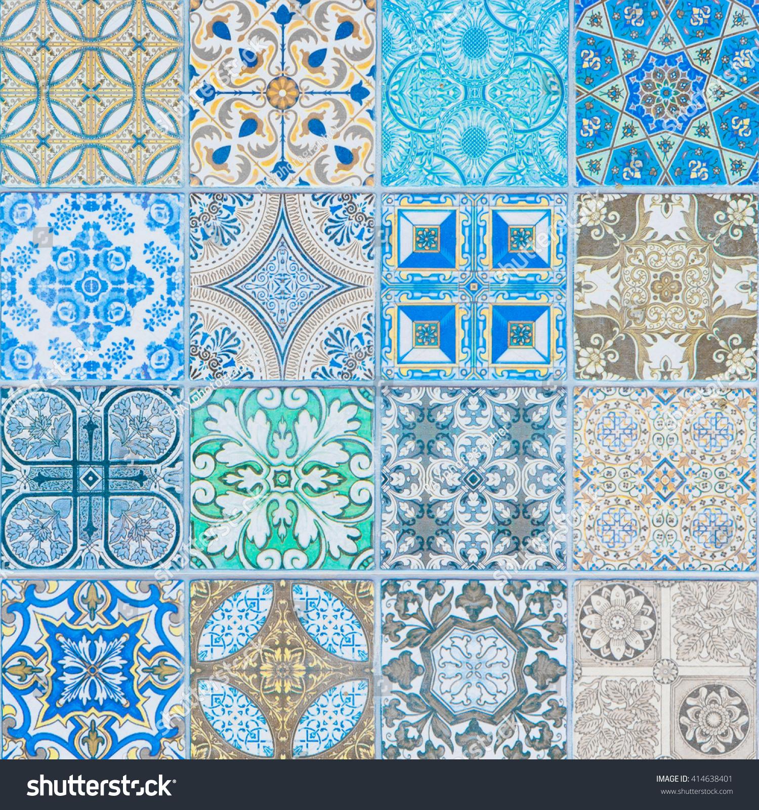 ceramic tiles patterns   EZ Canvas