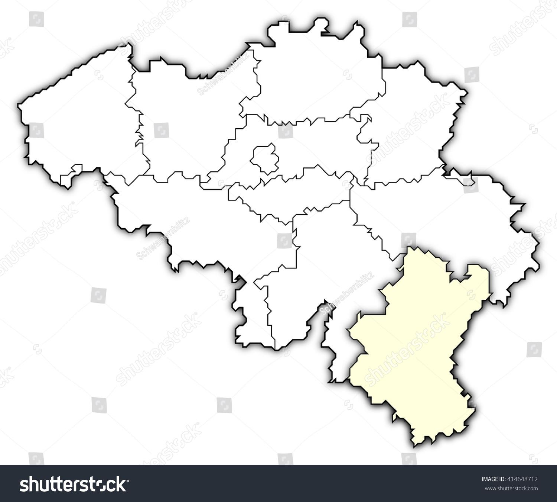 map belgium luxembourg stock illustration 414648712 shutterstock