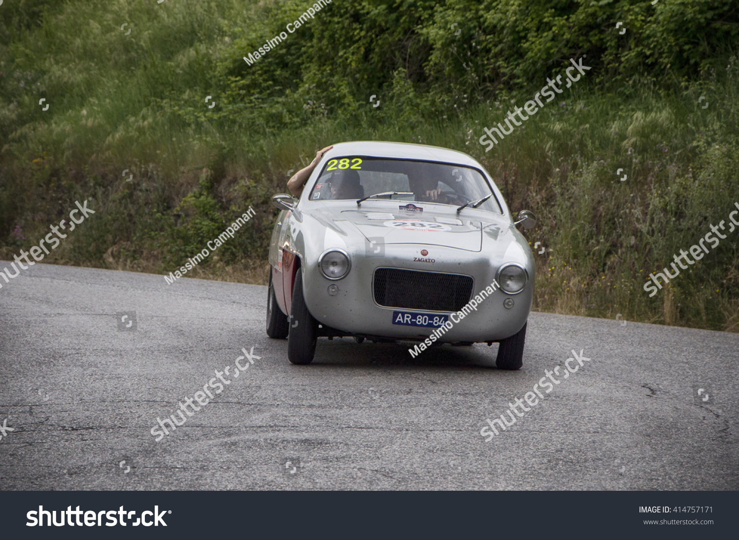 Pesaro Italy May 15 Zagato Fiat Stock Photo 414757171 - Shutterstock