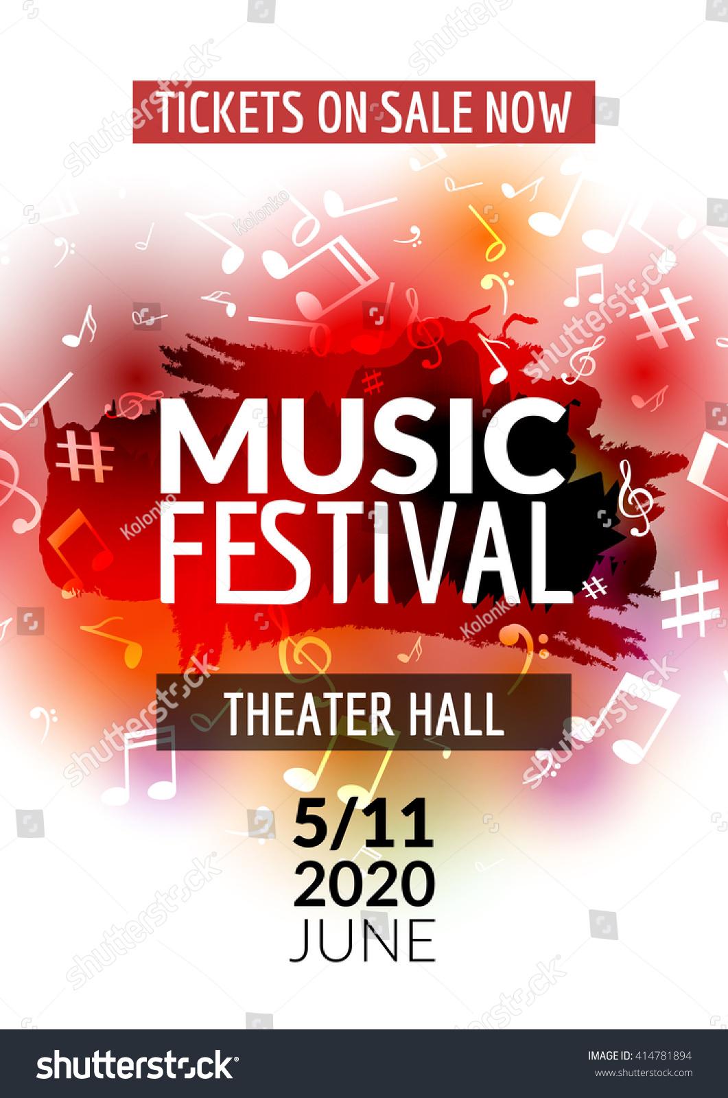 concert template