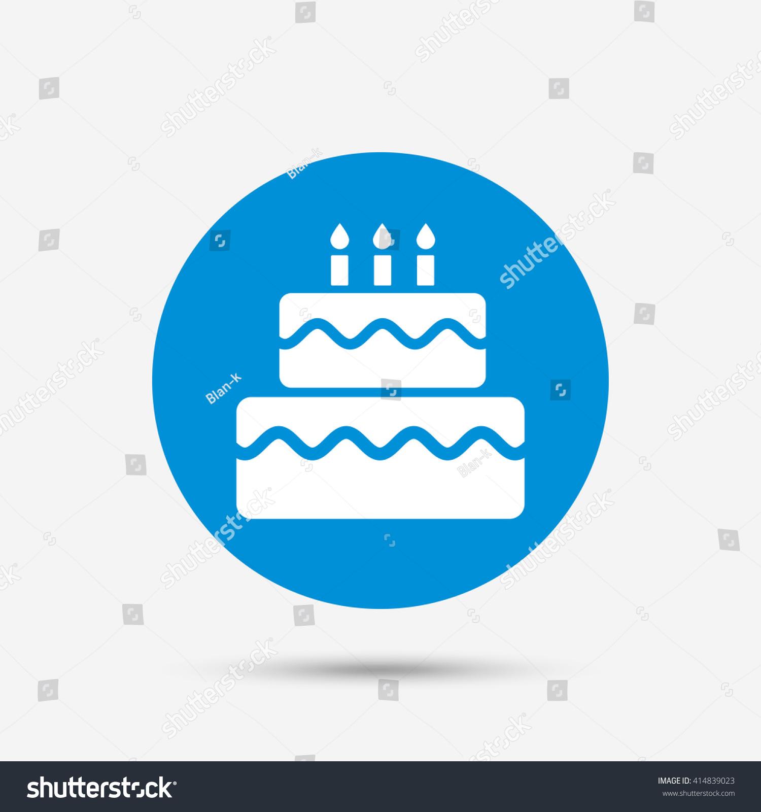 Birthday cake with keyboard symbols image collections symbol and birthday cake sign icon cake burning stock vector 414839023 birthday cake sign icon cake with burning buycottarizona