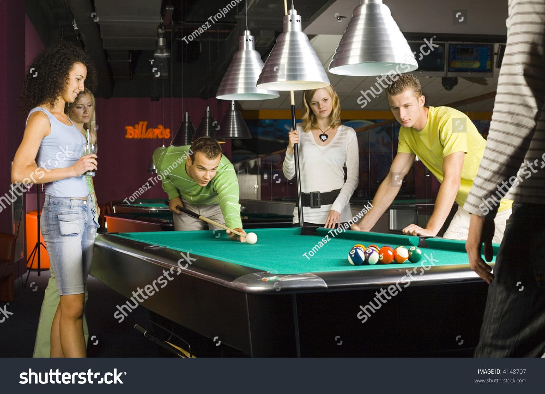 Pool ball porn