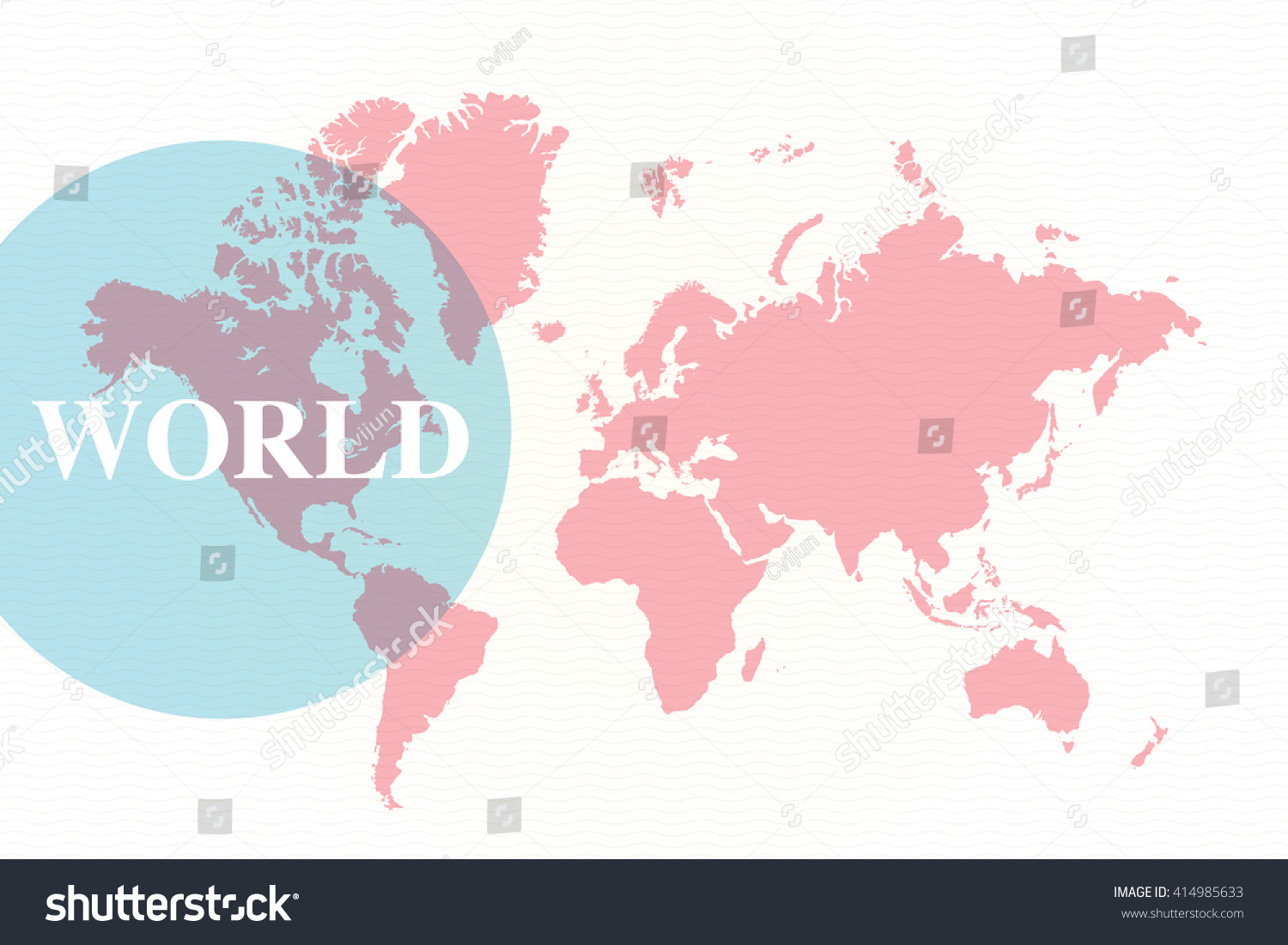 editable world map