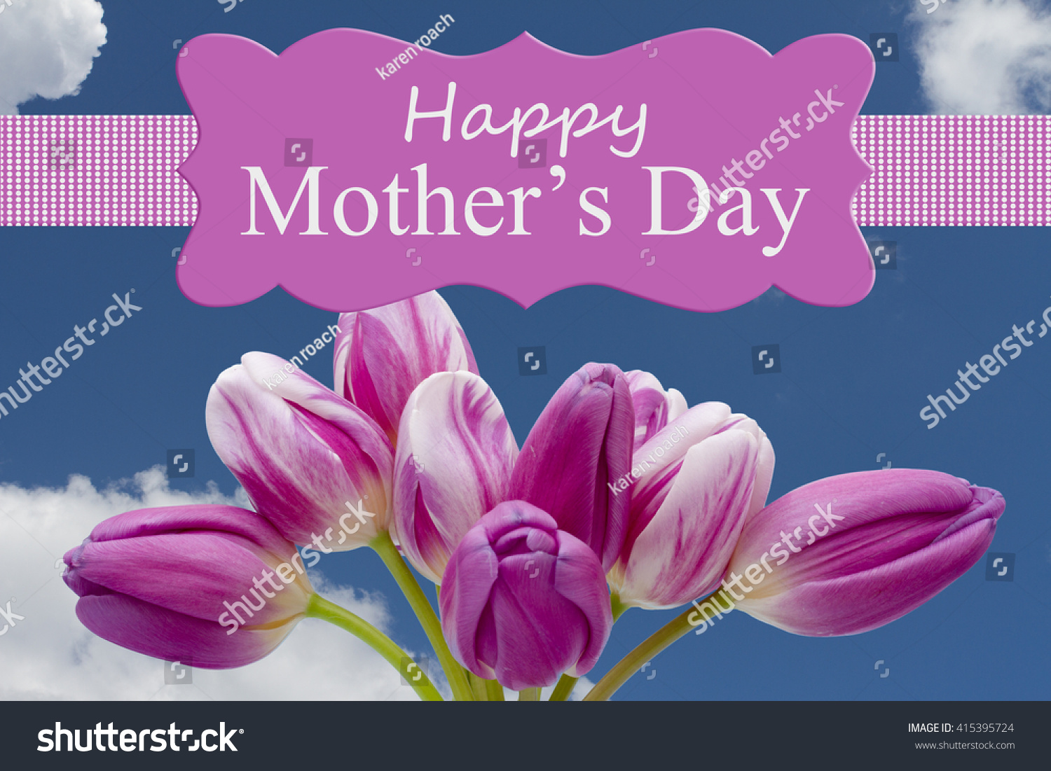 Happy mothers day greeting some tulips stock illustration happy mothers day greeting some tulips stock illustration 415395724 shutterstock kristyandbryce Image collections