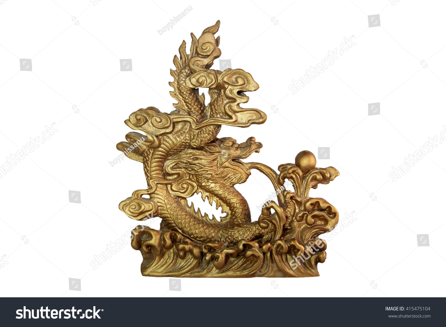 Dragon god symbol good luck chinese stock photo 415475104 the dragon is the god and symbol of good luck of chinese biocorpaavc Image collections