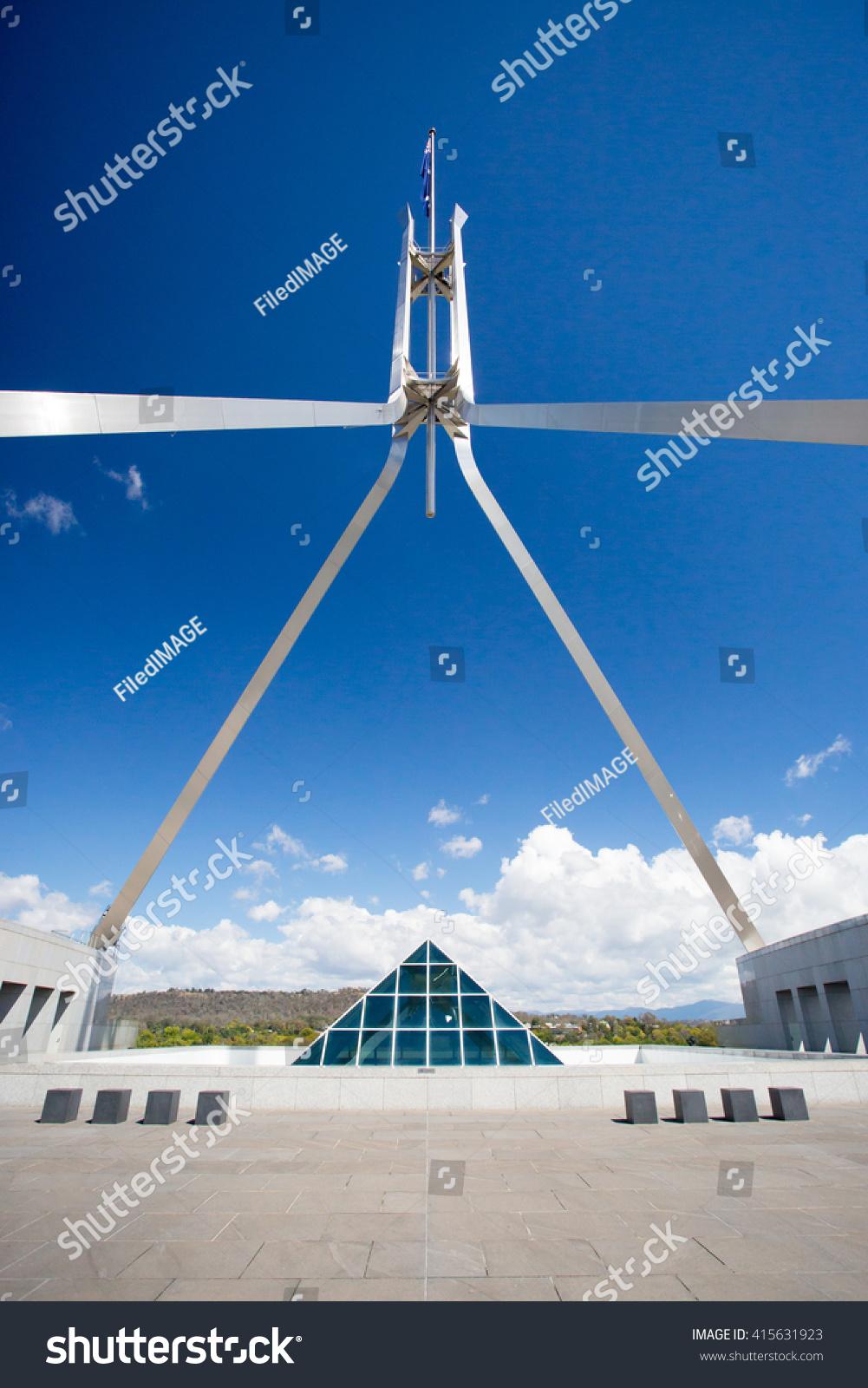 Stunning Architecture Parliament Australia Canberra