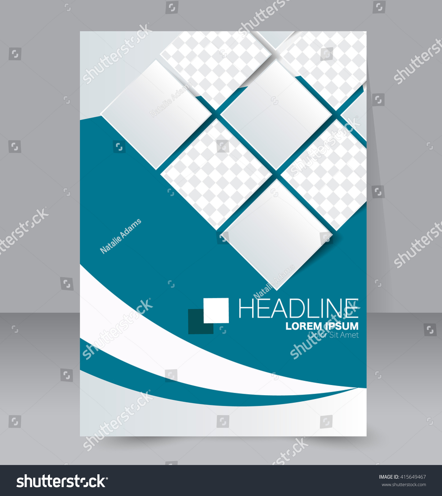 Abstract flyer design background brochure template stock for Background brochure templates