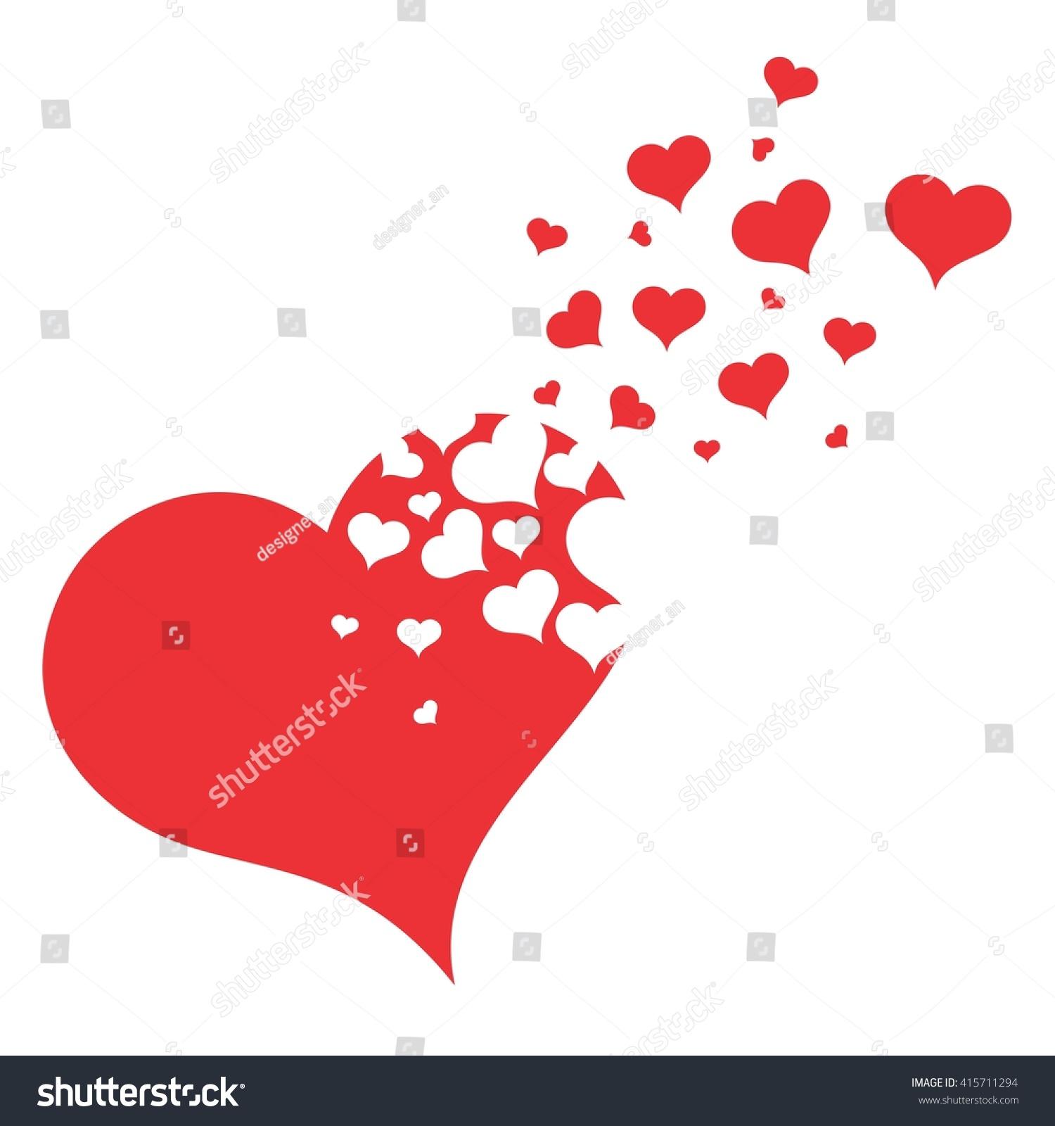 Symbol broken heart stock illustration 415711294 shutterstock symbol of broken heart buycottarizona