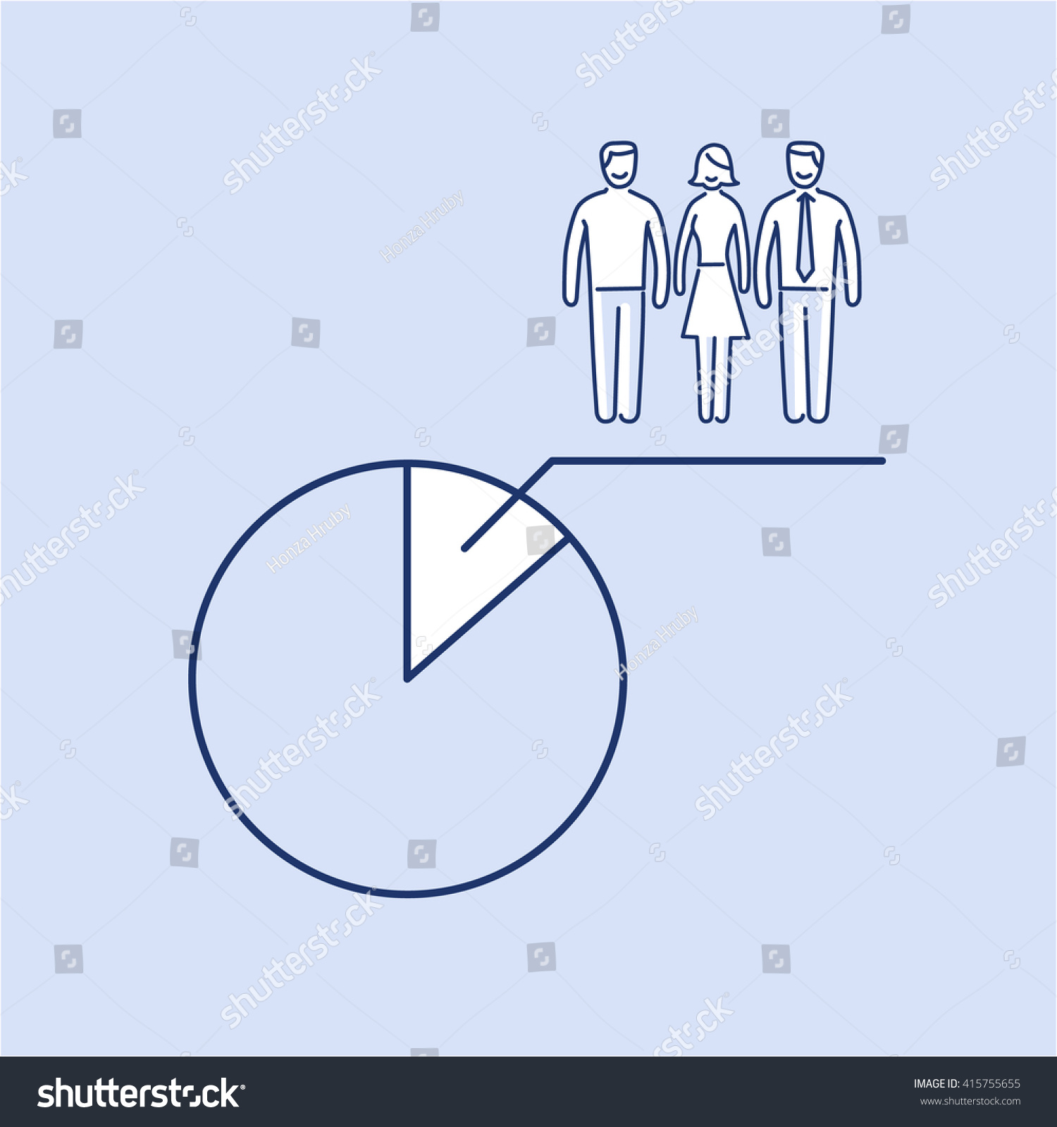 Sample of pie chart context flow diagram example conceptual vector population sample icon pie stock vector stock vector conceptual vector population sample icon with pie chart at focus group of people nvjuhfo Image collections