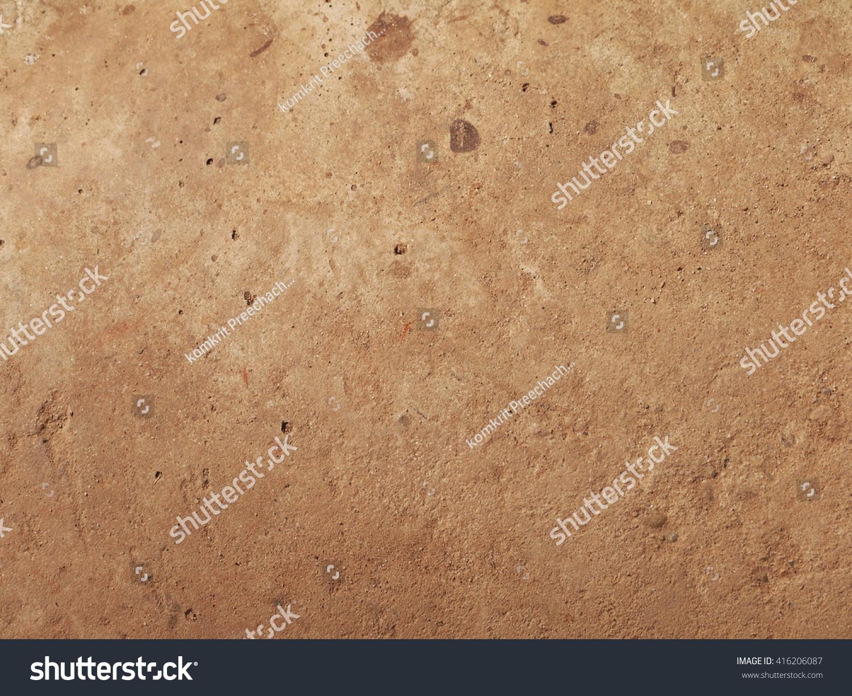 Brown Textured Concrete : Brown concrete floor texture stock photo
