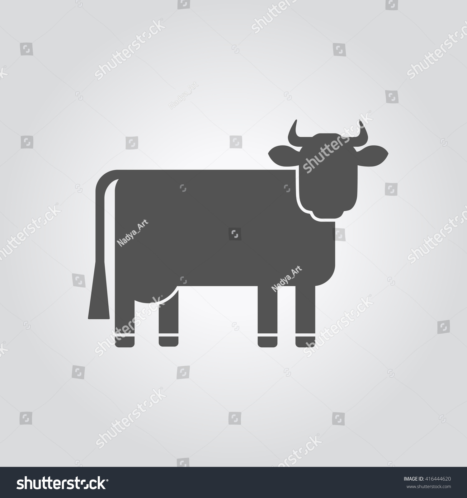 Black vector silhouette cow symbol holstein stock vector 416444620 the black vector silhouette of a cow the symbol of a holstein breed cow buycottarizona