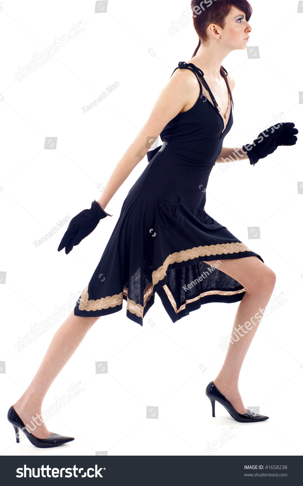 Fashion Model Walking Royalty Free Stock Photo - Image ... |Fashion Model Walking