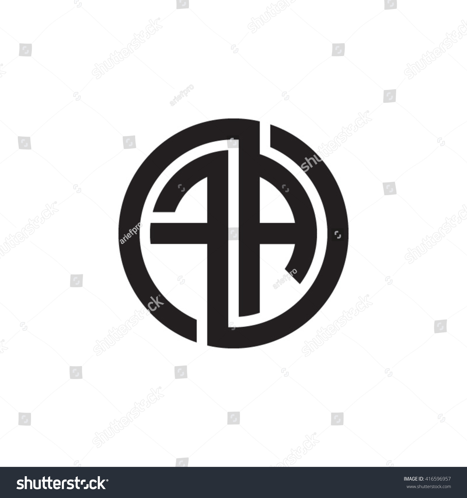 Fa initial letters loop linked circle 416596957 fa initial letters loop linked circle monogram logo thecheapjerseys Images