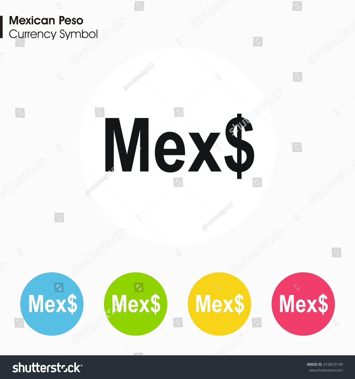Mexican Money Symbol Images Meaning Of This Symbol