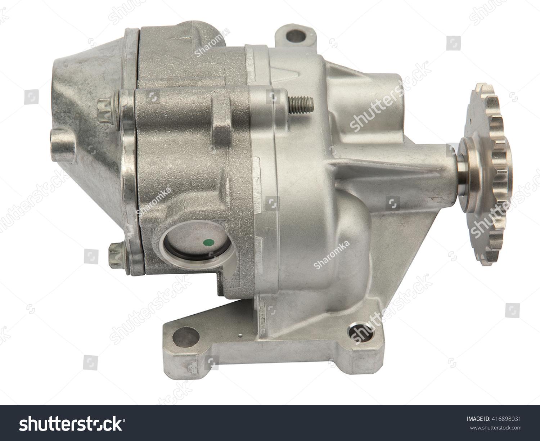 Automotive Engine Oil Pump Stock Photo 416898031