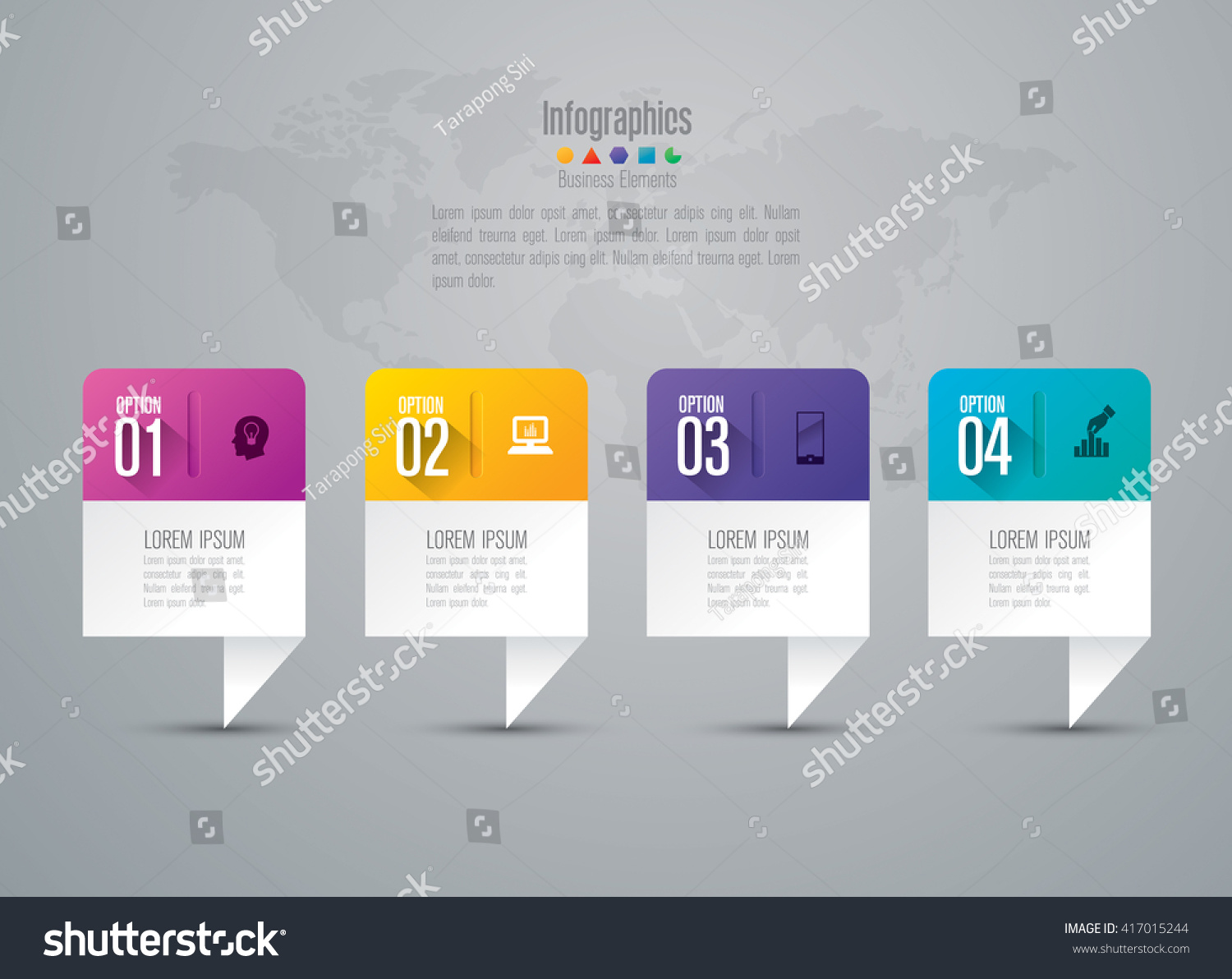 Infographic Design Vector Marketing Icons Can Stock-Vektorgrafik ...