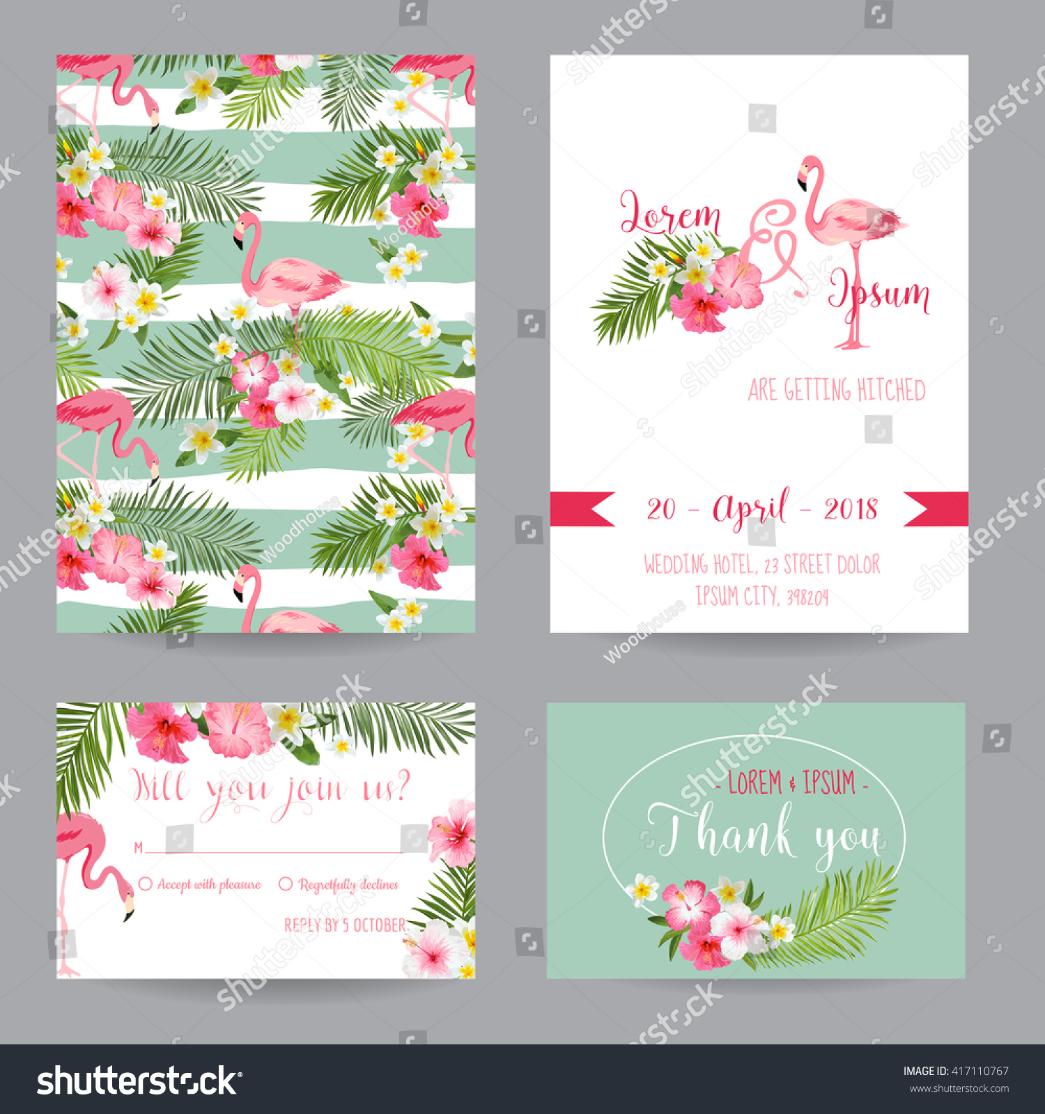 Beach Theme Card Stock: Save The Date. Wedding Invitation Or Congratulation Card