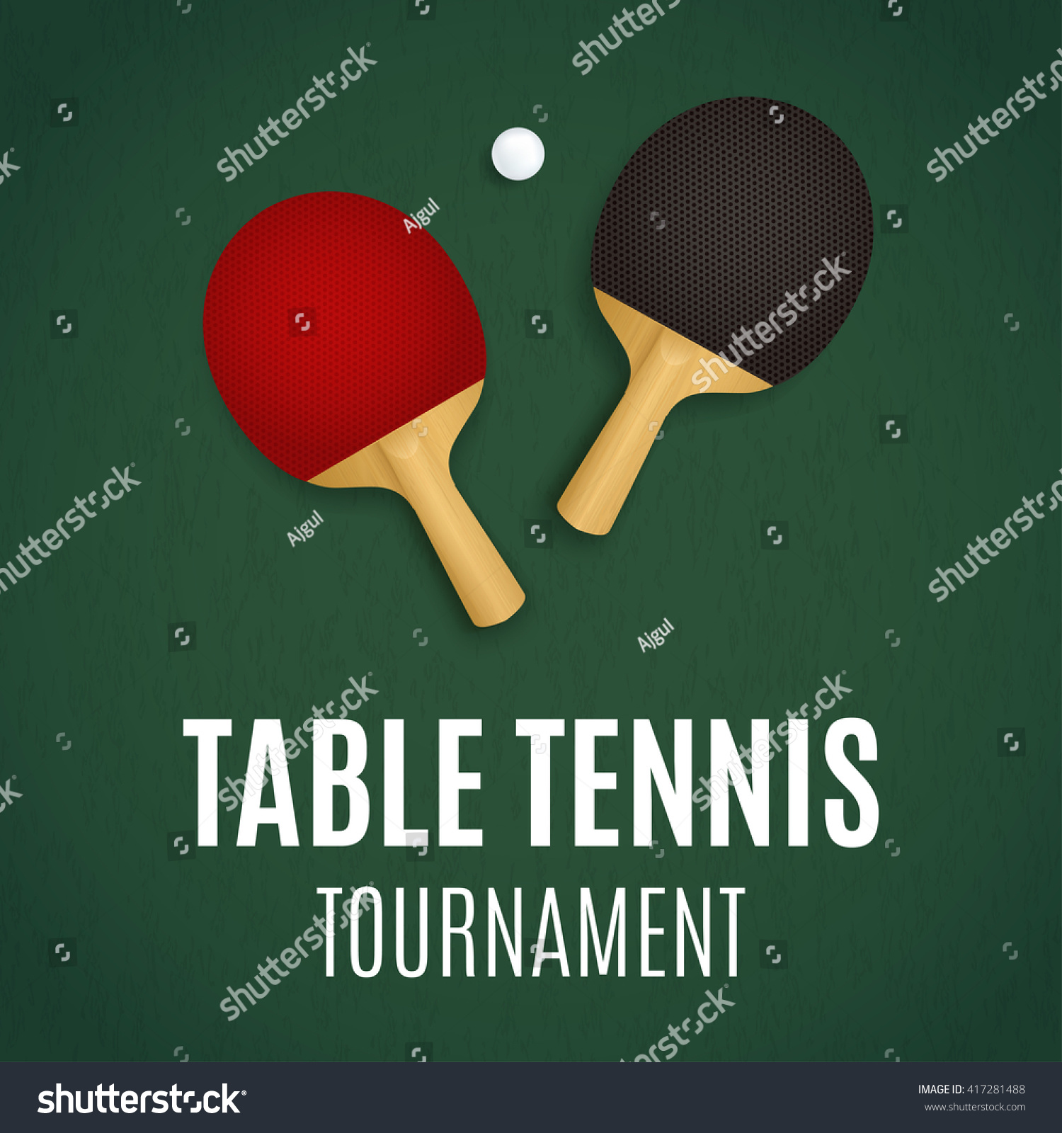 Table tennis tournament ping pong background stock vector table tennis tournament ping pong background stock vector 417281488 shutterstock fandeluxe Gallery
