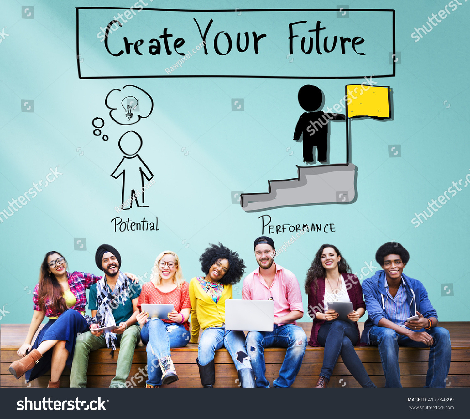 royalty create your future aspiration goals 417284899 stock create your future aspiration goals concept 417284899