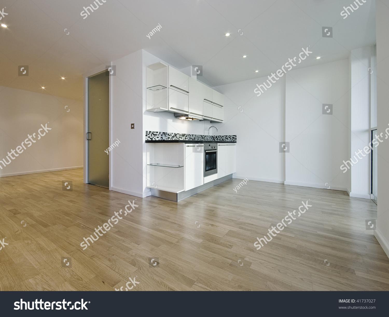 modern luxury open plan studio apartment stock photo 41737027 shutterstock. Black Bedroom Furniture Sets. Home Design Ideas