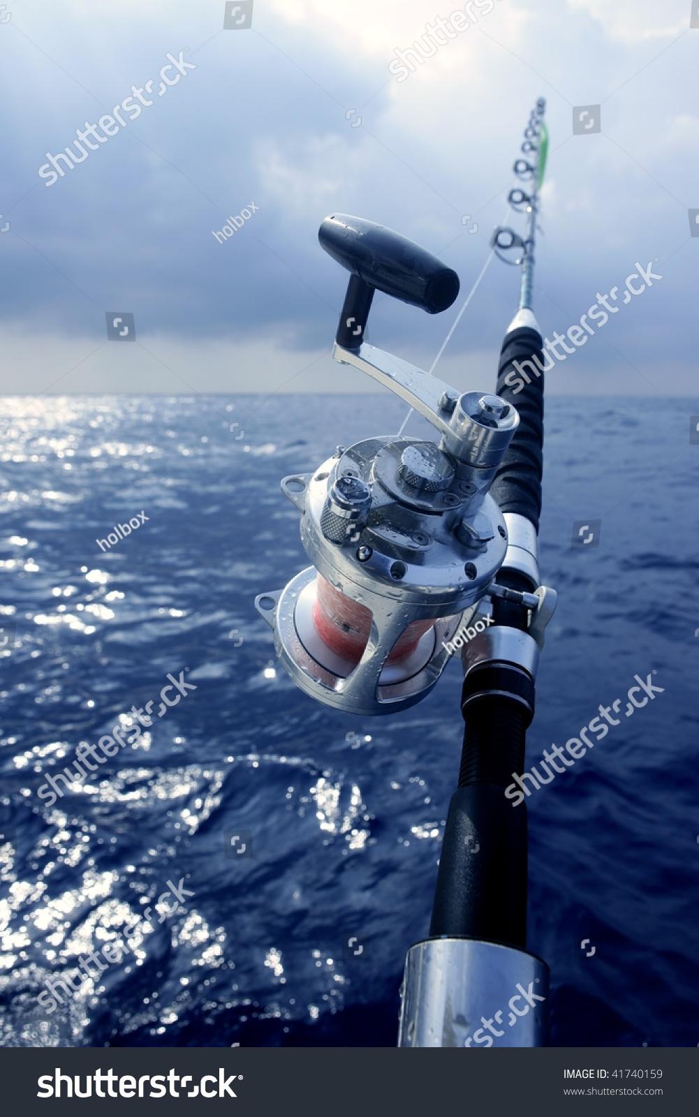 Big game boat fishing deep sea stock photo 41740159 for Sea fishing games