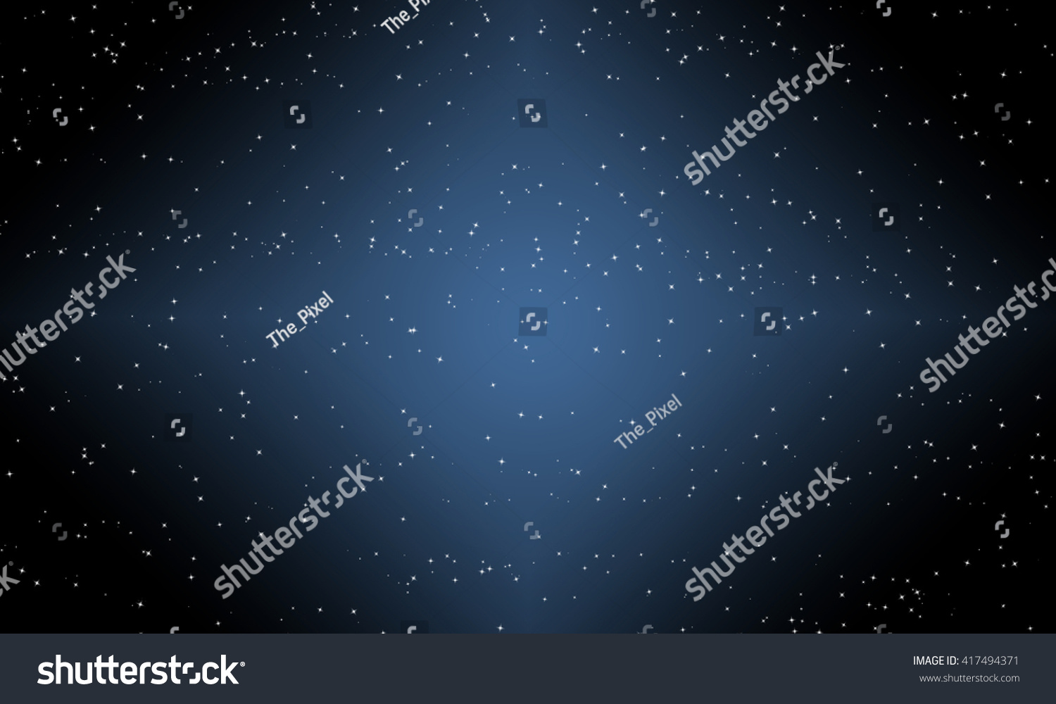 Stars Sky Universe Dark Night Galaxy Background