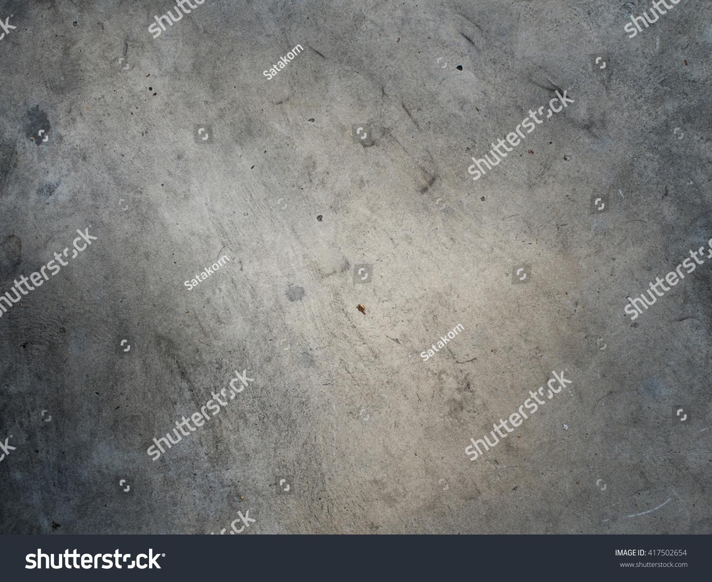 Rough Concrete Floor Stock Photo 417502654