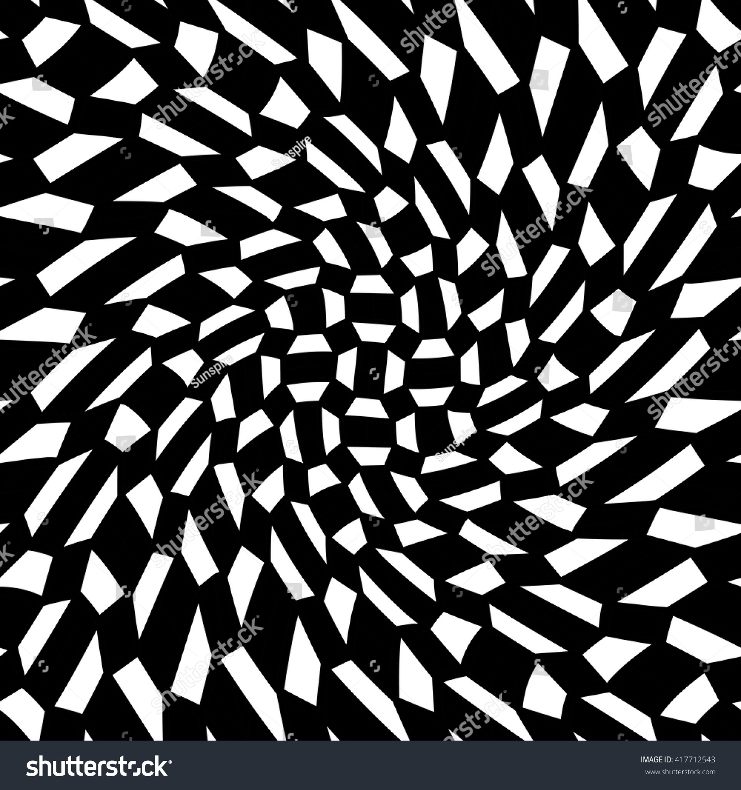 Black bed sheets pattern - Vector Modern Abstract Geometry Psychadelic Pattern Black And White Seamless Geometric Crazy Background Subtle