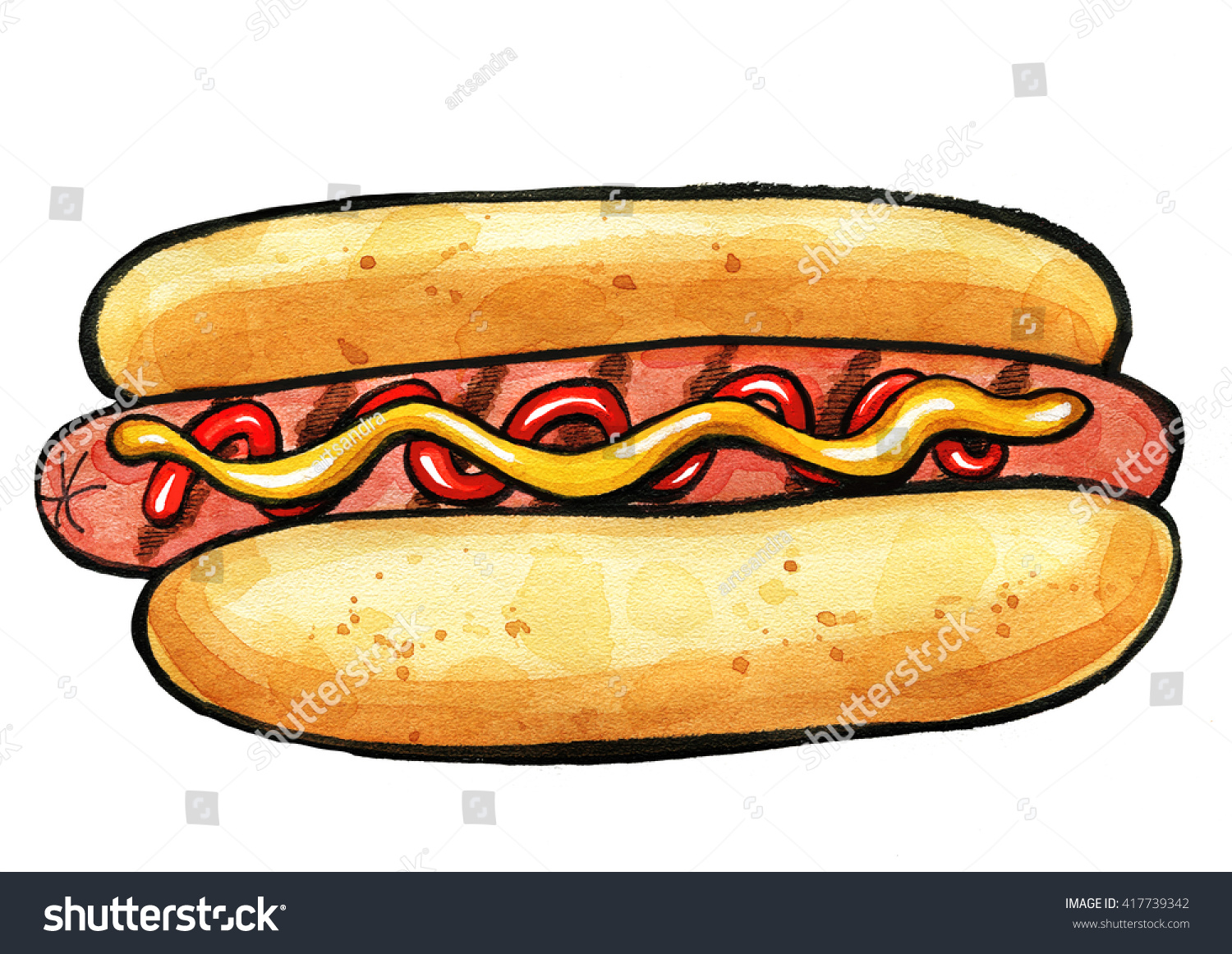 Are Grill Marks Painted On Fast Food