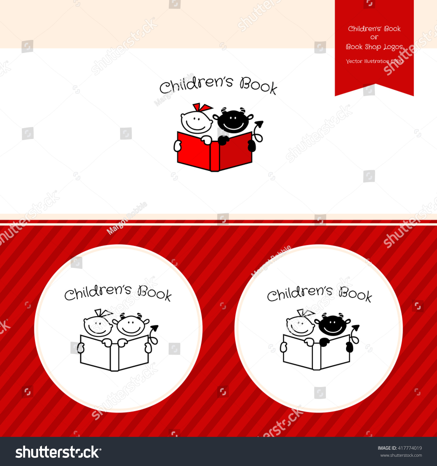 childrens book template