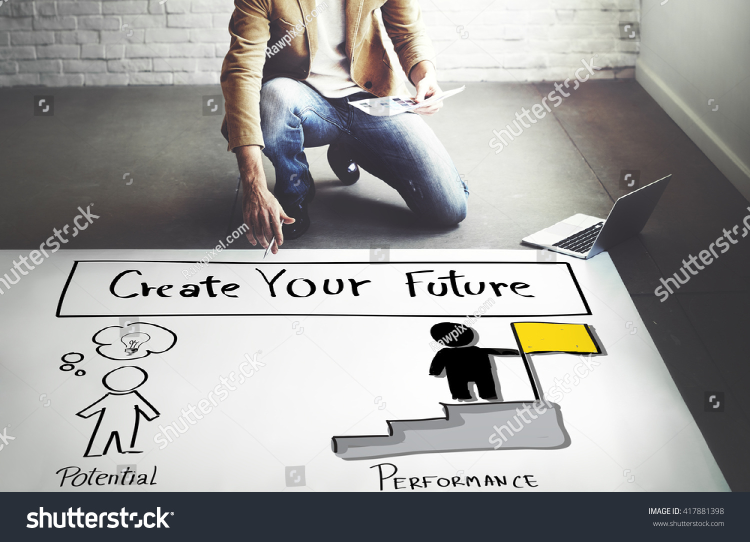 royalty create your future aspiration goals 417881398 stock create your future aspiration goals concept 417881398