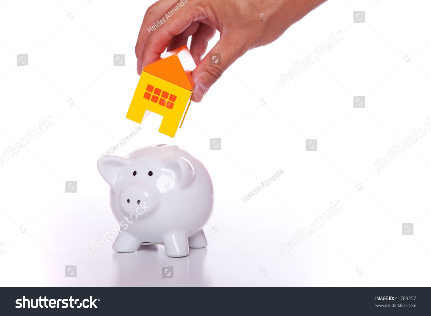 Start Saving Now For Your New House Stock Photo 41788357
